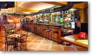 Durable flooring for restaurants and bars expertly installed by RNB Flooring